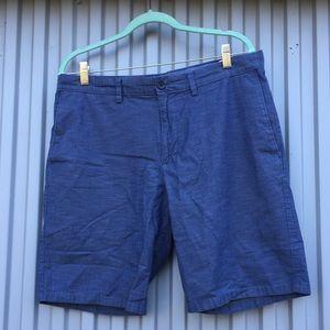 Banana Republic Aiden Chambray Shorts size 34